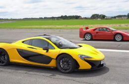 Ferrari F40 e McLaren P1