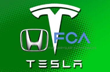 Honda FCA e Tesla