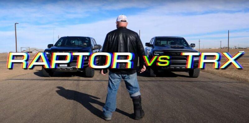 Ram 1500 TRX VS Ford F-150 Raptor