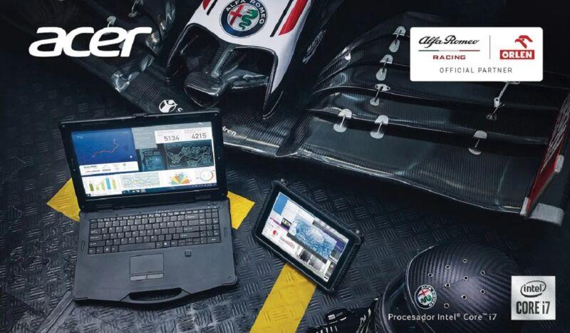 Acer Enduro Alfa Romeo racing