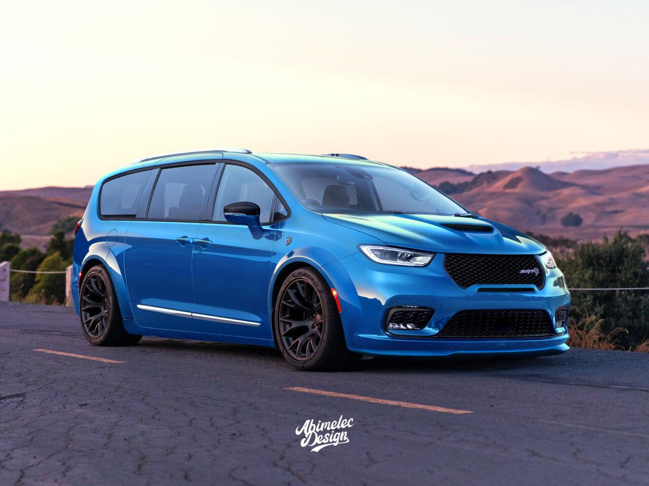Chrysler Pacifica Render