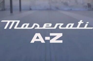 Maserati A-Z