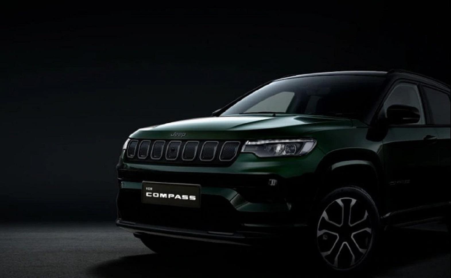 Nuova Jeep Compass teaser