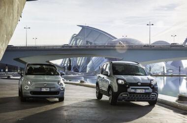 Fiat 500 e Panda