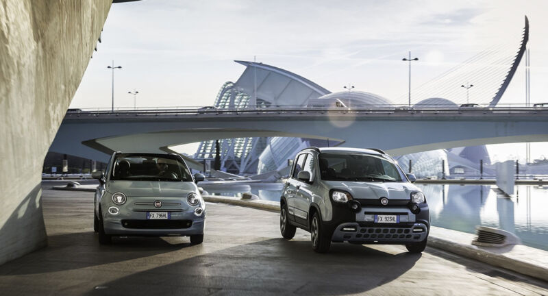 Fiat 500 e Panda: quota di mercato record in Europa