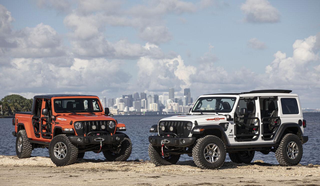 Jeep Wrangler e Gladiator
