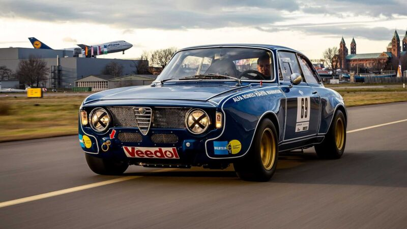Alfa Romeo Giulia Sprint GTA 1600 Corsa