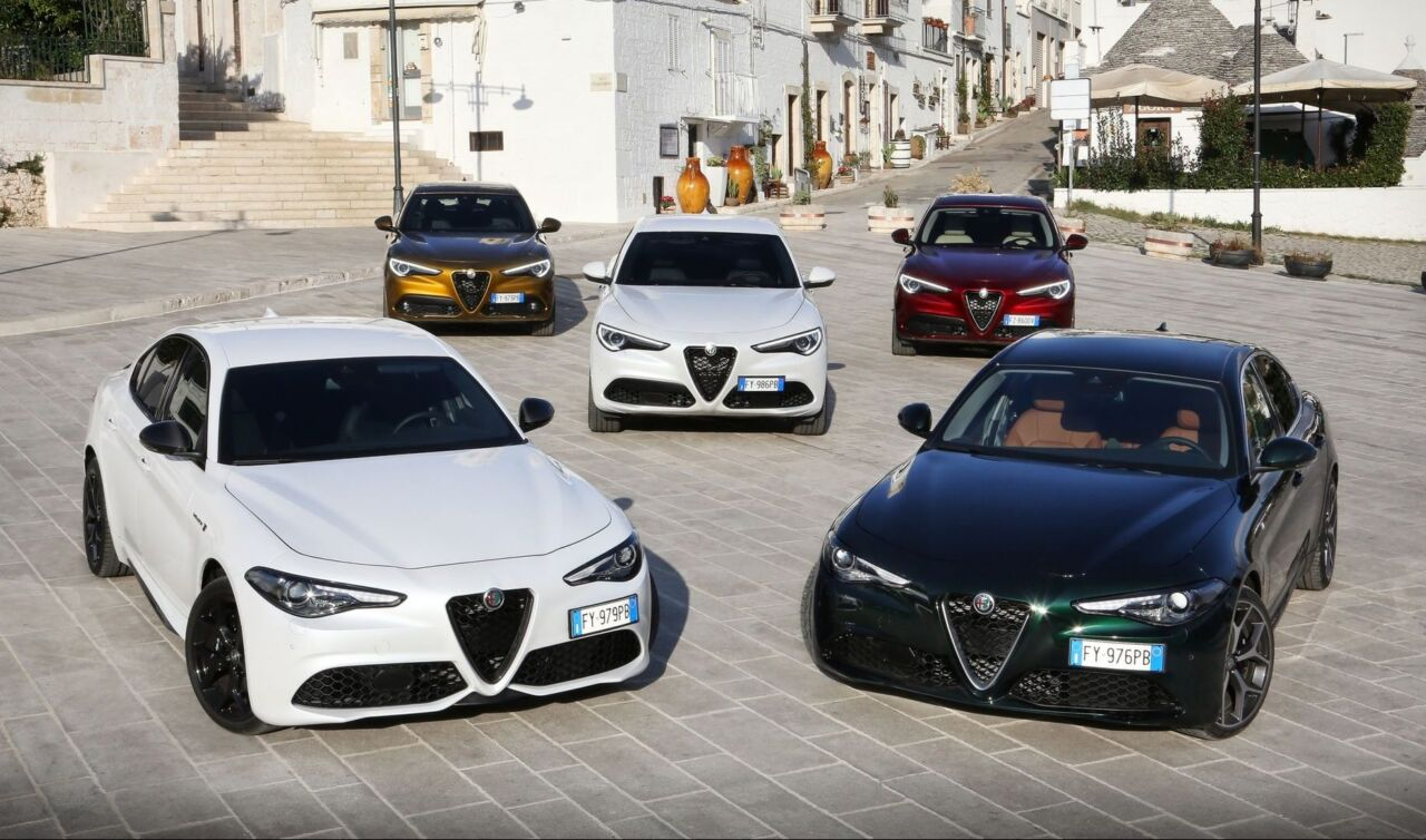 Alfa Romeo Giulia Stelvio