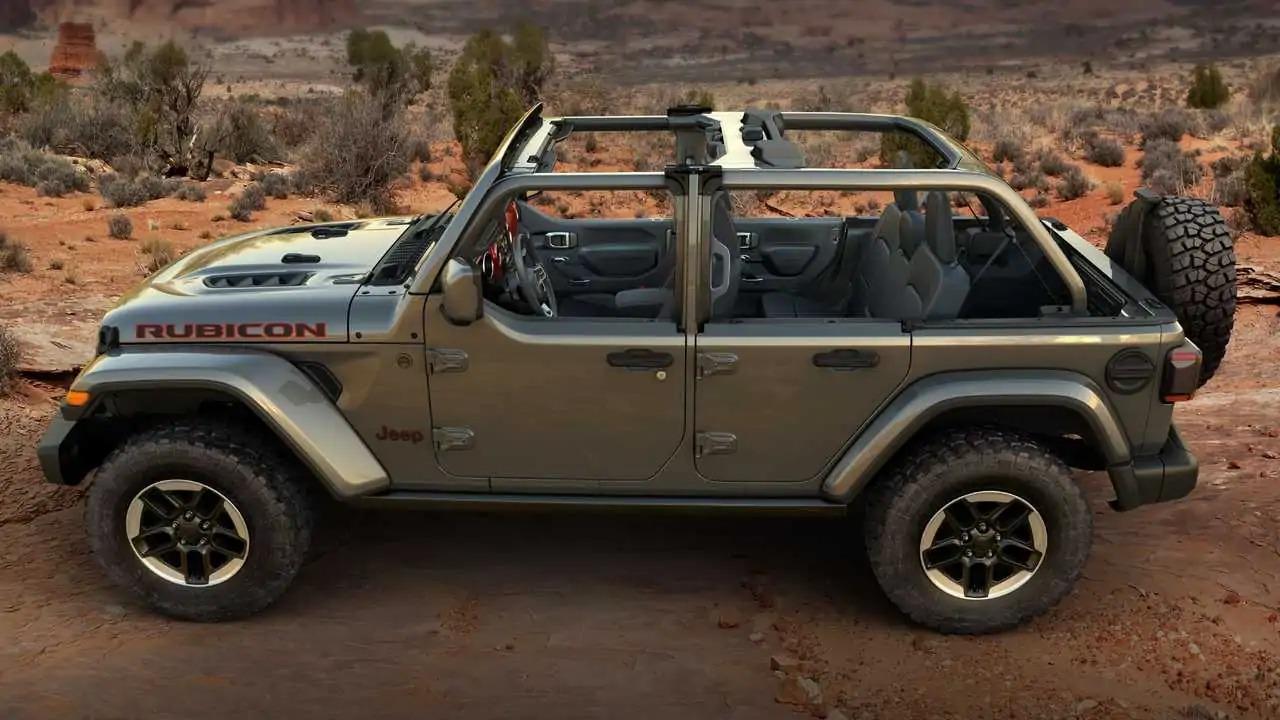 Jeep Wrangler mezze porte