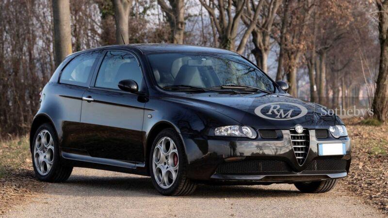 Alfa Romeo 147 GTA in vendita: ha un V6 3.2 litri