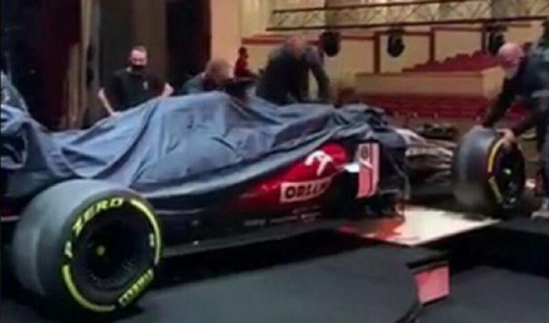 Alfa Romeo C41: online alcune immagini che mostrano la monoposto