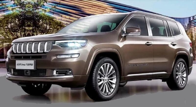 Jeep: il prossimo SUV 7 posti inizia i test per strada
