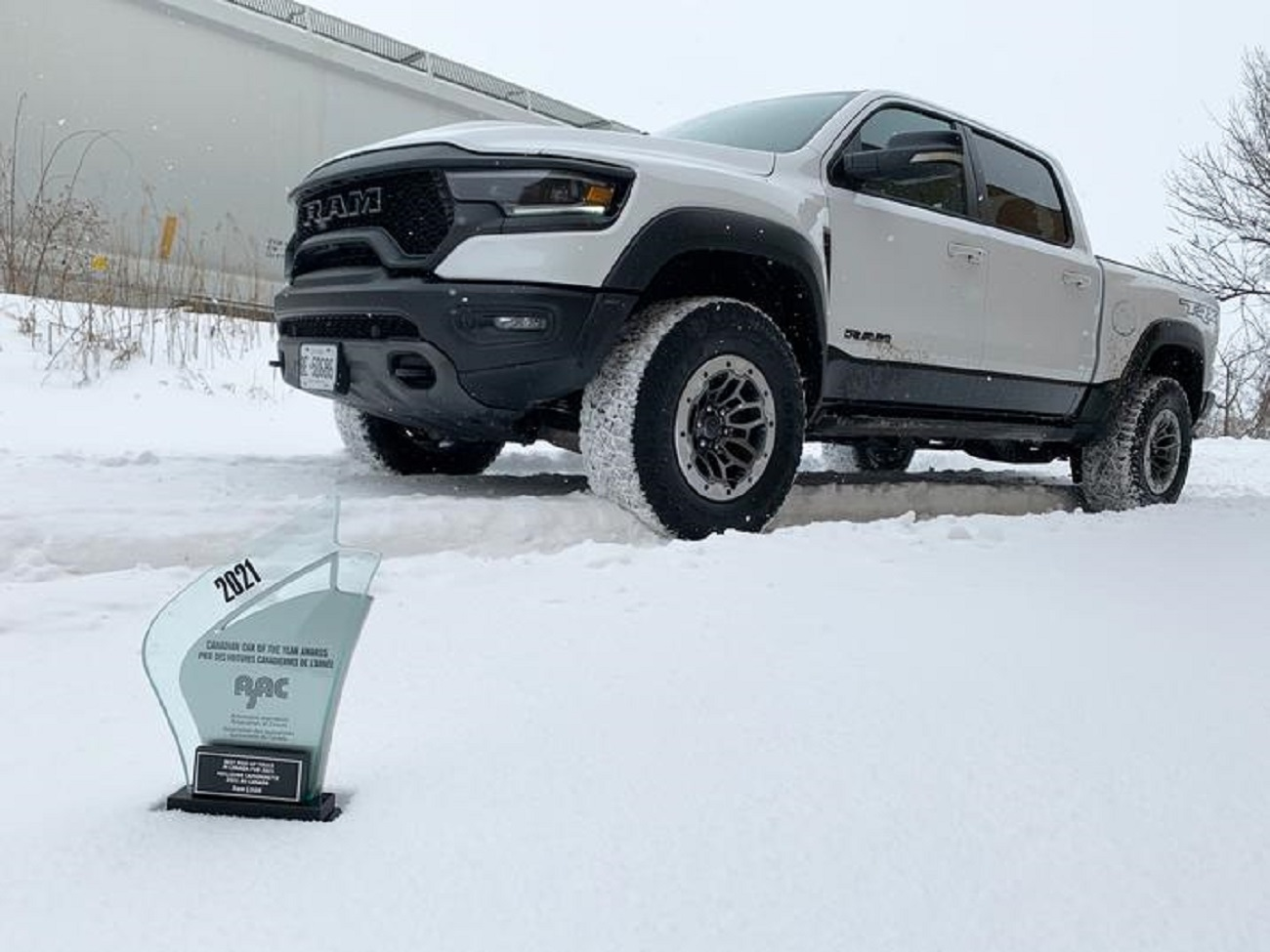 Ram 1500 eletto miglior pickup full-size 2021 dall'Automobile Journalists Association of Canada