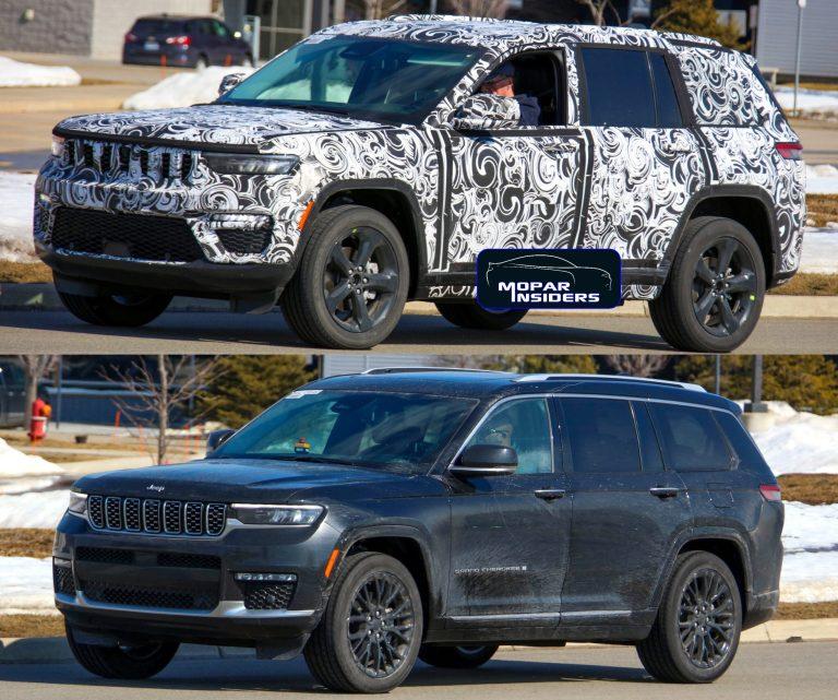 Differenze tra la versione 5 e 7 posti del Jeep Grand Cherokee