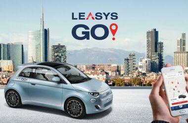 Fiat 500 elettrica leasysgo!