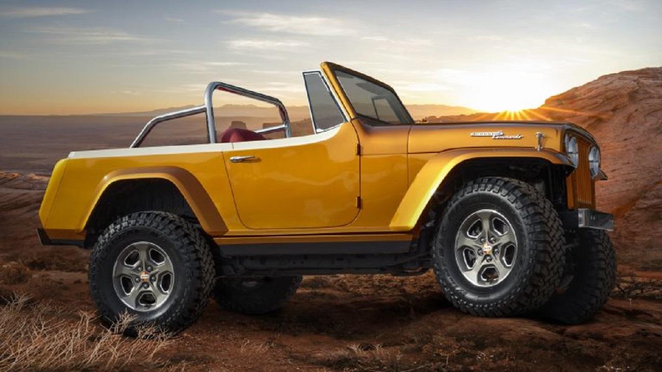 Jeep Jeepster Beach Concept: il piacere del fuoristrada scoperto