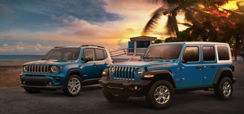 Jeep Renegade e Wrangler Islander