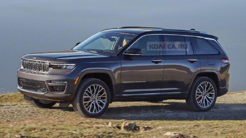 Nuova Jeep Grand Cherokee 5 porte