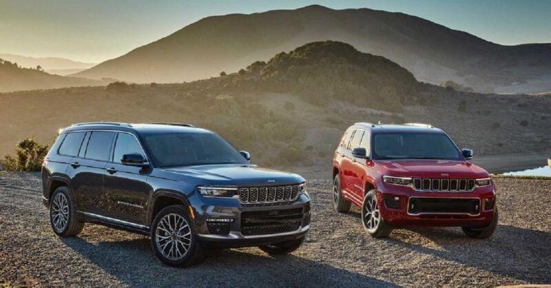 Jeep Grand Cherokee avvistamento: la variante 5 posti è diversa da quella a 7