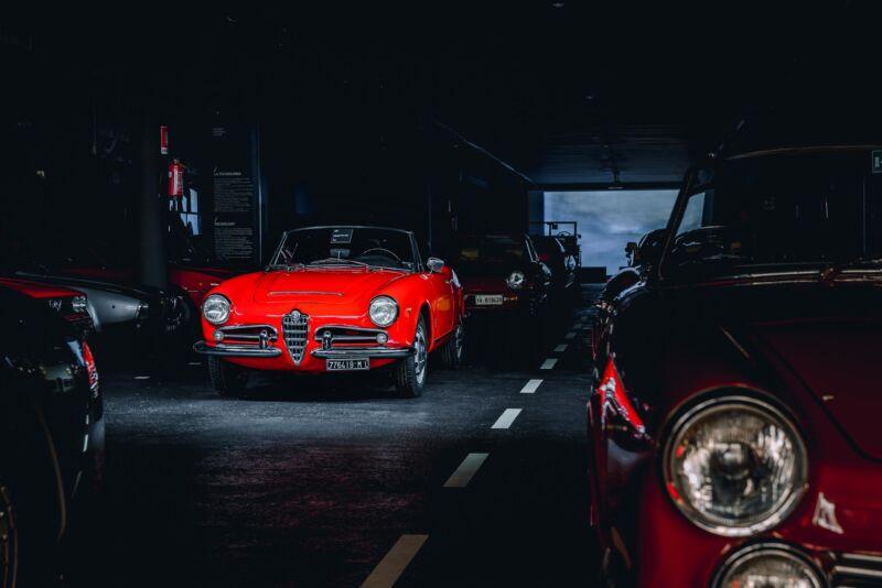 Museo Cozzi: l'eterno amore per l'Alfa Romeo