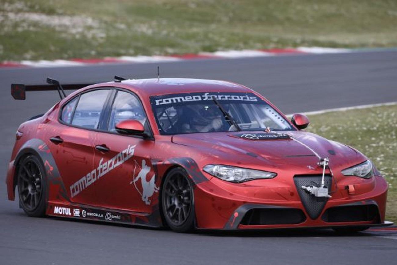 Romeo Ferraris: scende in pista la Giulia elettrica per l'ETCR