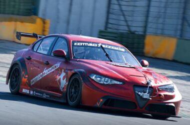 La Giulia ETCR di Romeo Ferraris completa i test a Vallelunga