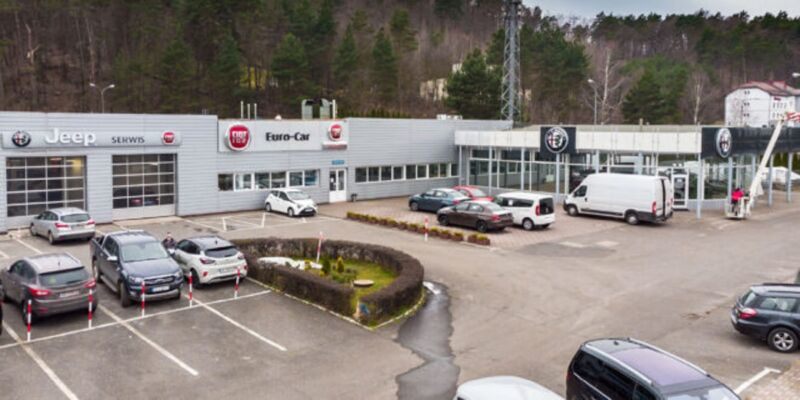 Nuovo showroom Alfa Romeo, Fiat e Jeep in arrivo a Gdynia