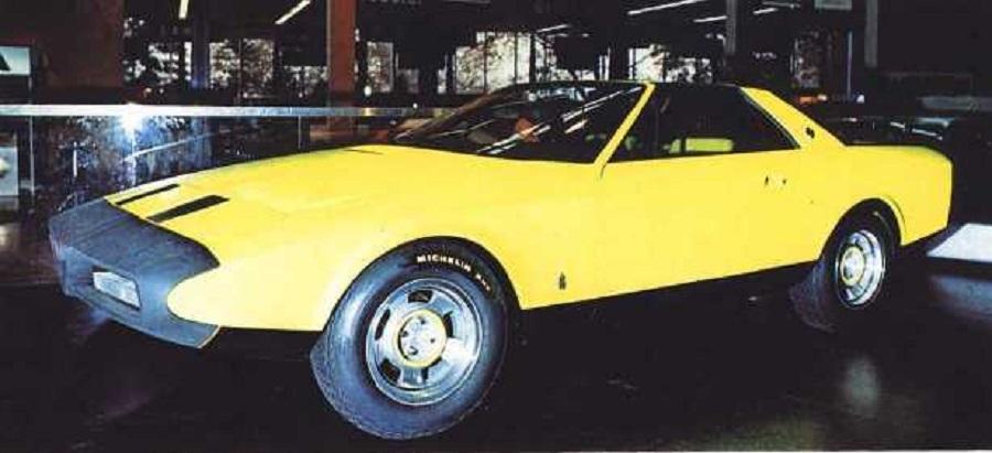 Alfetta Spider del 1972