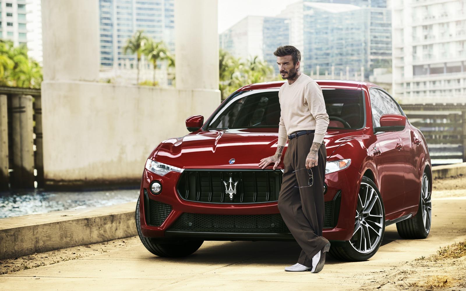 David Beckham - Maserati