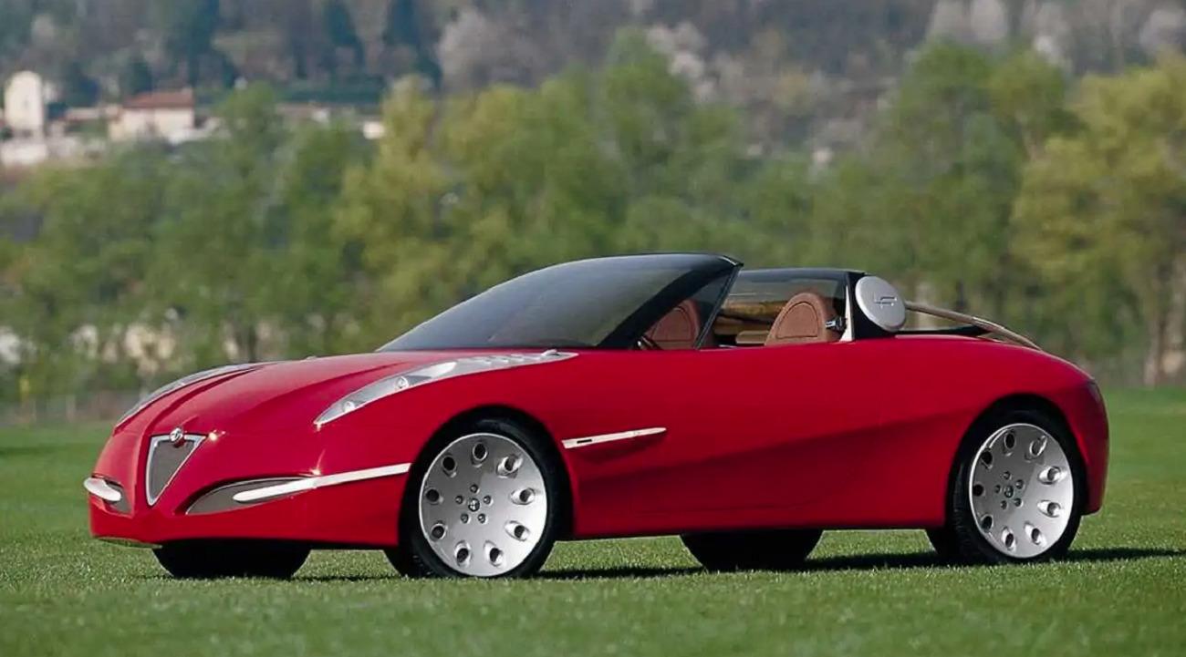 Alfa Romeo, 50 anni di Spider Concept