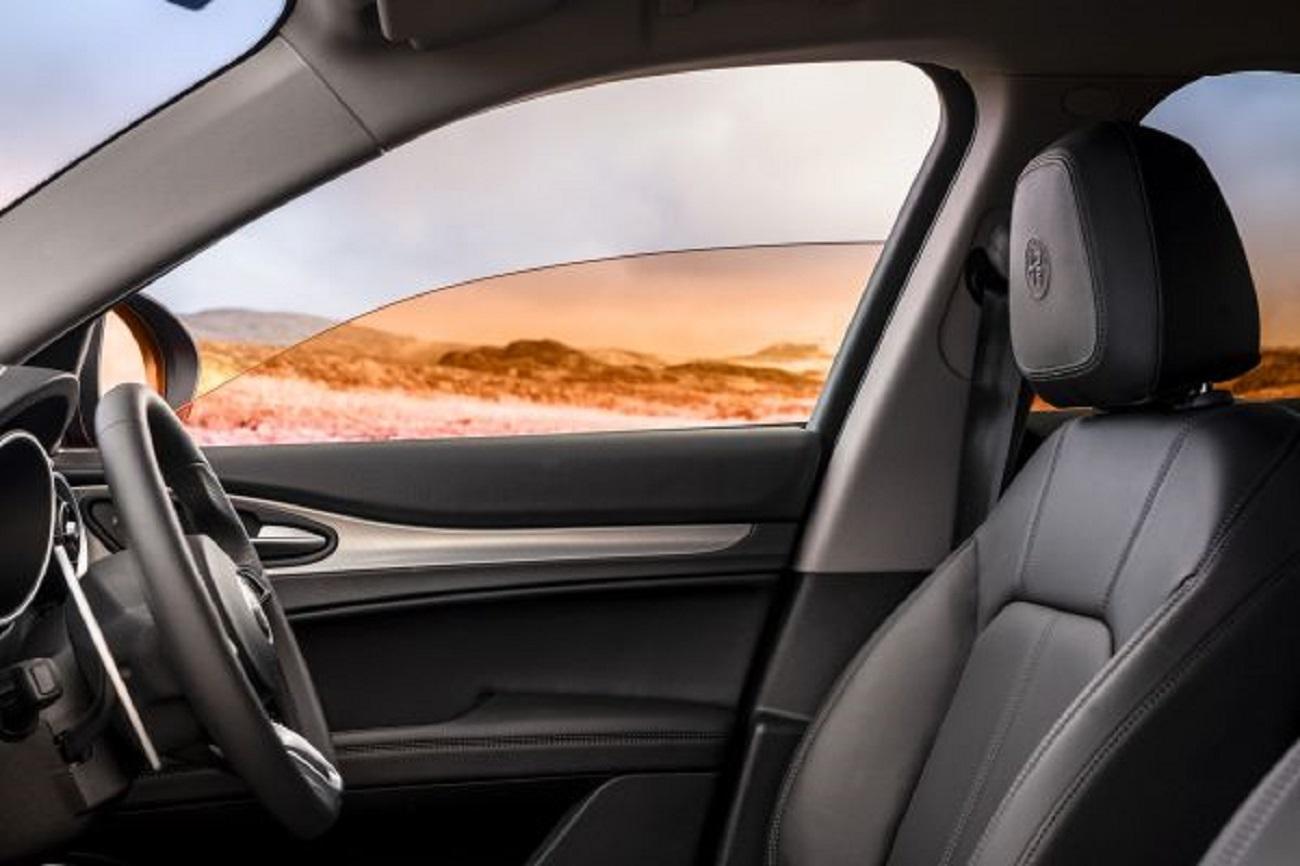 Alfa Romeo Stelvio: cambiare colore ai finestrini tramite filtri stile Instagram