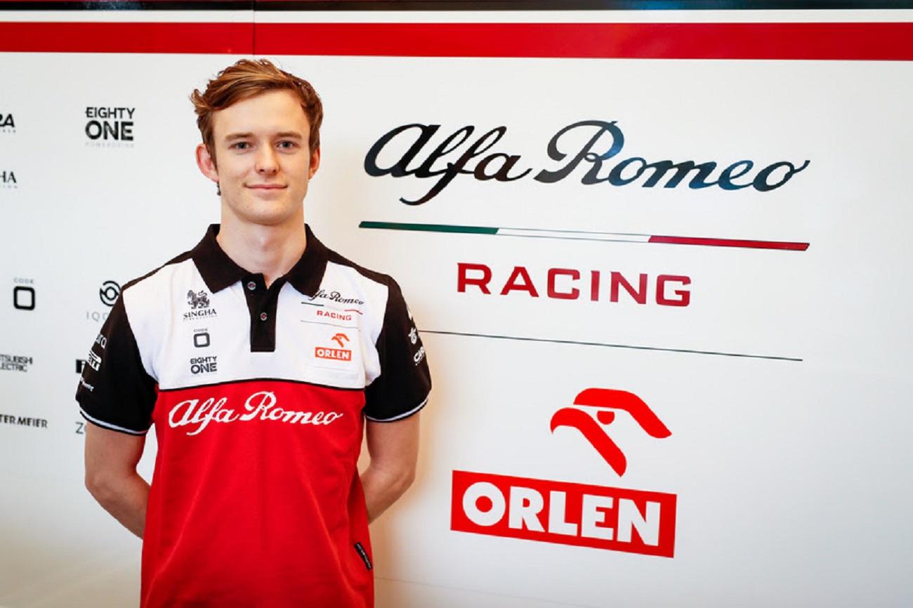 Callum Ilott si unisce all'Alfa Romeo Racing ORLEN come pilota di riserva per il 2021