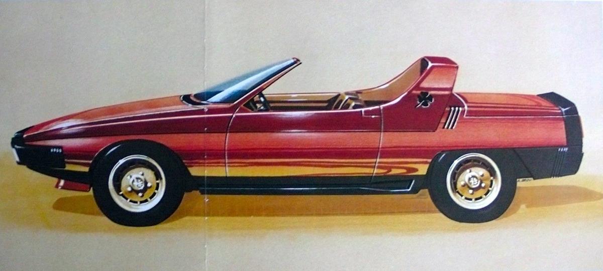 Alfa Romeo Eagle Pininfarina del 1975