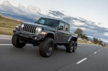 Jeep Gladiator: ecco la versione 6x6