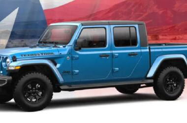 Jeep Gladiator Texas Trail: arriva il nuovo pickup speciale