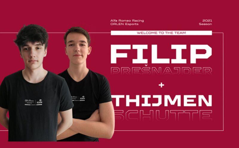 Alfa Romeo Racing ORLEN-F1 Esports