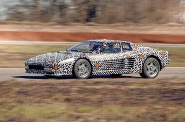 Ferrari Testarossa officine Fioravanti