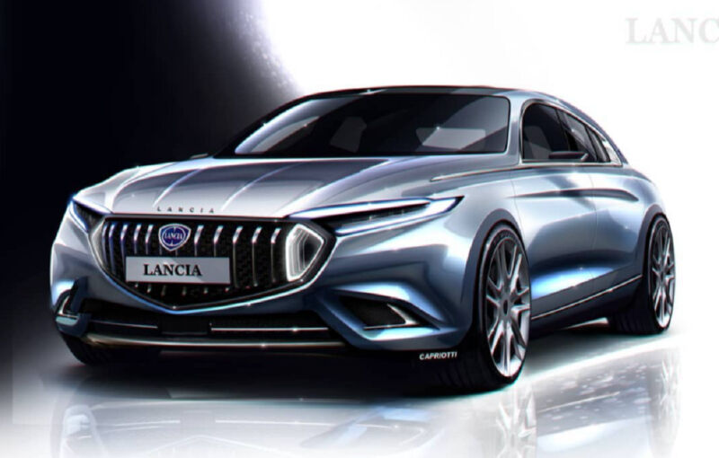 Lancia Anthea render