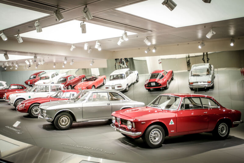 Museo Storico Alfa Romeo di Arese