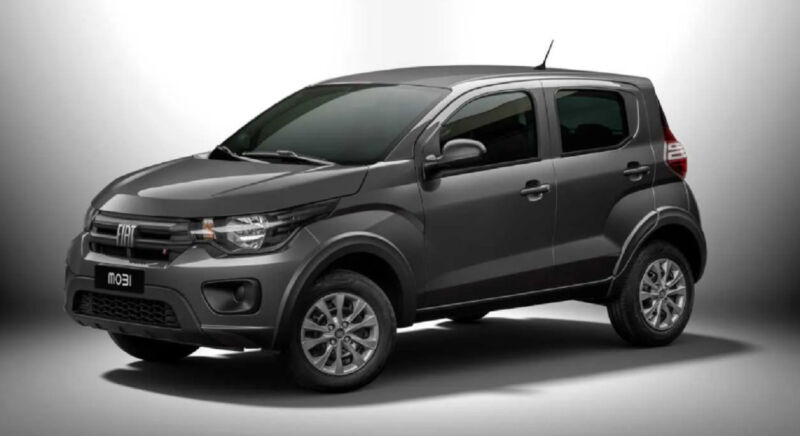 Fiat Mobi guida le vendite di Aprile in Brasile delle hatch