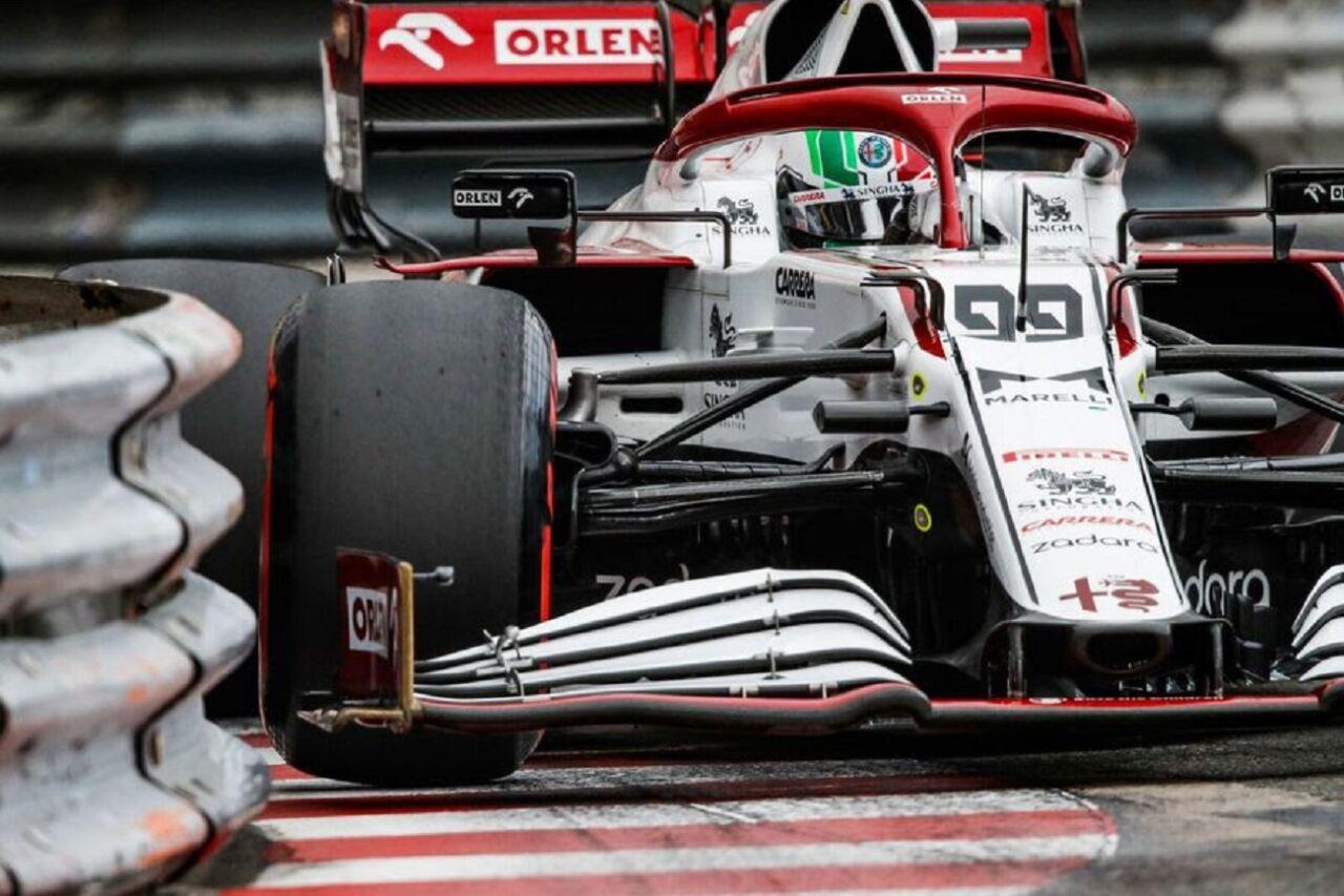 GP Monaco 2021: le interviste del sabato a Giovinazzi e Raikkonen