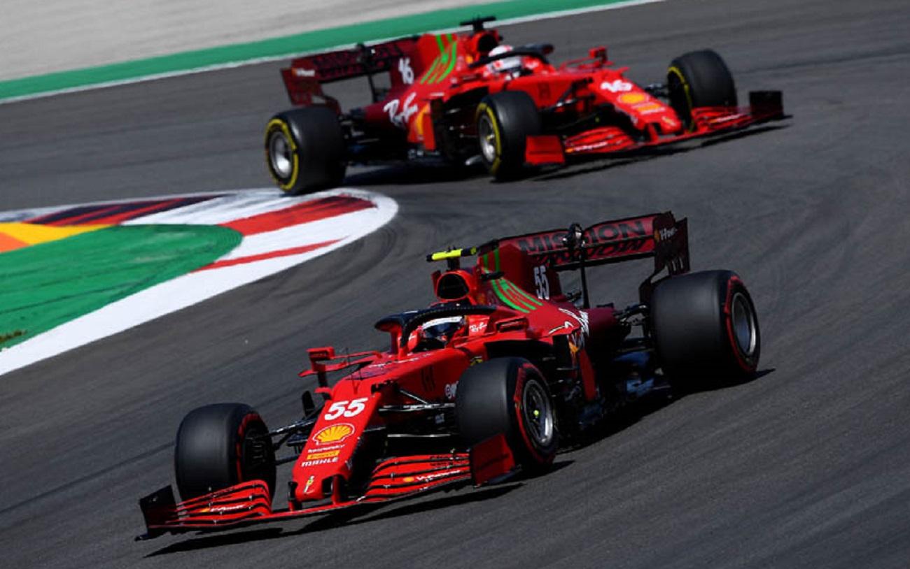 GP Portogallo 2021: le interviste post-gara a Leclerc e Sainz