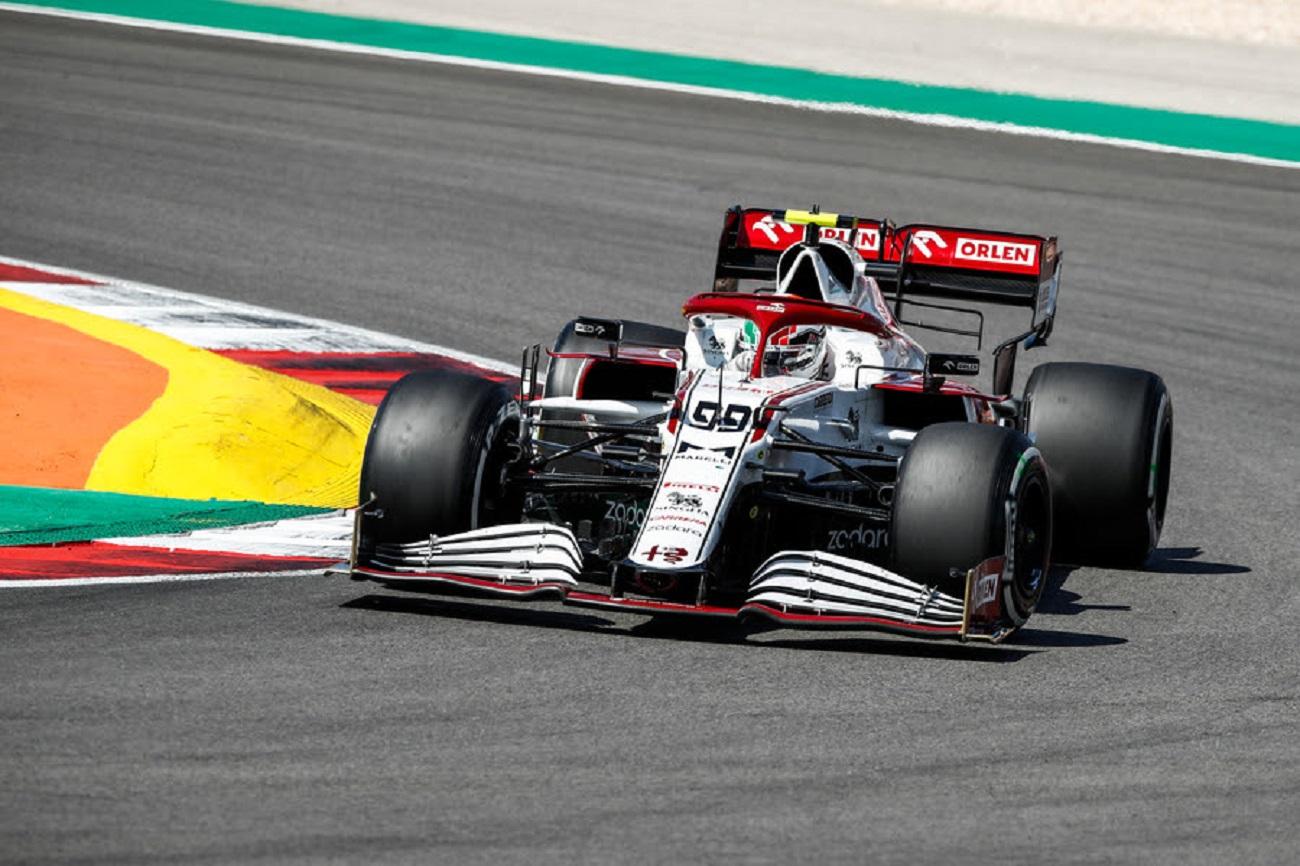 GP Portogallo: le interviste a Raikkonen e Giovinazzi