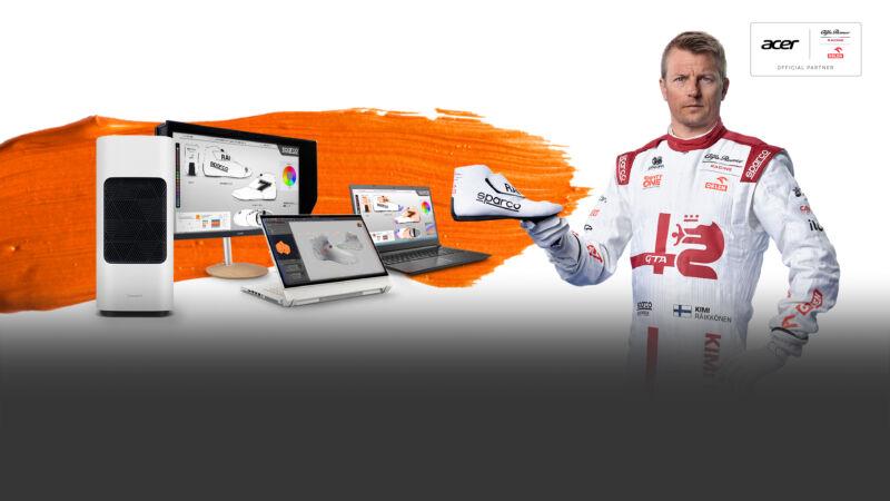 """Kimi Raikkonen: Acer lancia la """"Kimi's Creator Challenge"""" a sostegno di Save The Children"""
