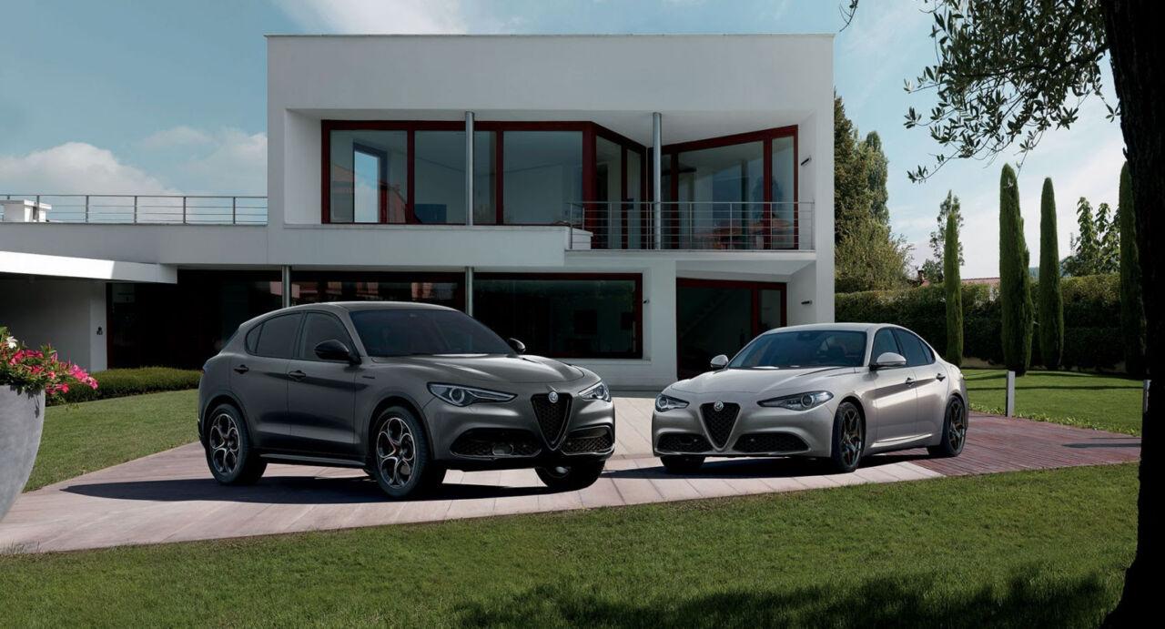 Alfa Romeo Giulia Stelvio web edition