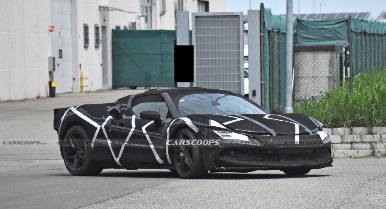 Ferrari V6 ibrido