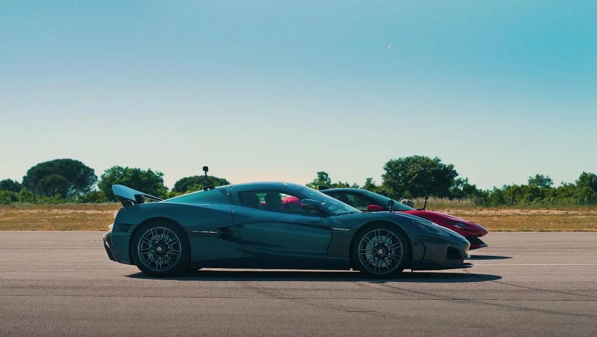 Rimac Nevera e Ferrari SF90 Stradale
