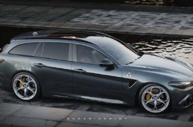 Alfa Romeo Giulia Wagon: i render la raffigurano come la rivale della Serie 3 Touring