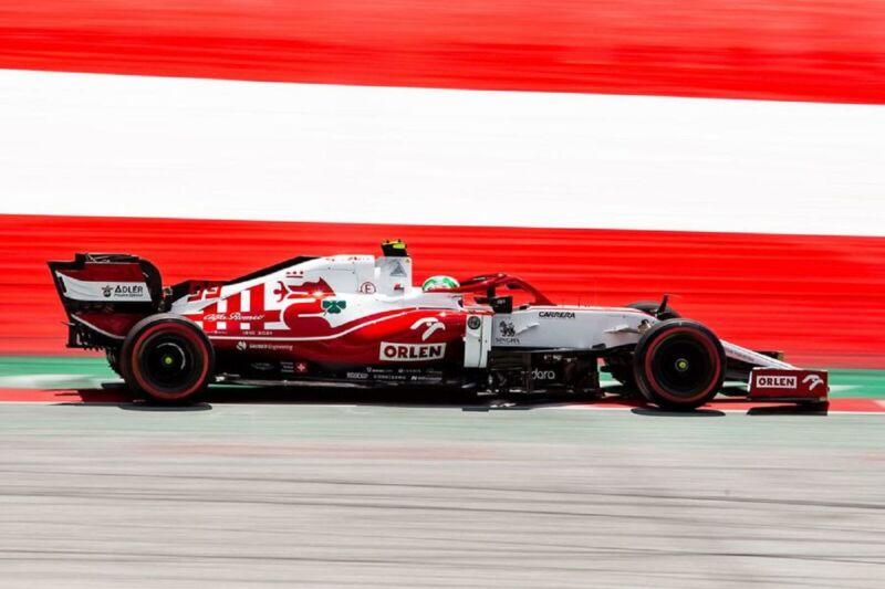 GP Stiria: il sabato dell'Alfa Romeo Racing