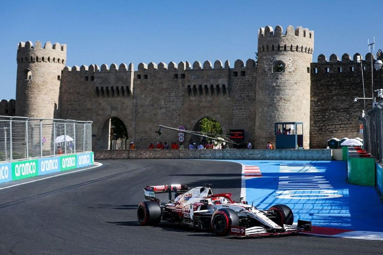 GP Azerbaijan: il venerdì di Alfa Romeo Racing
